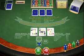 Triple Card Poker Spielen